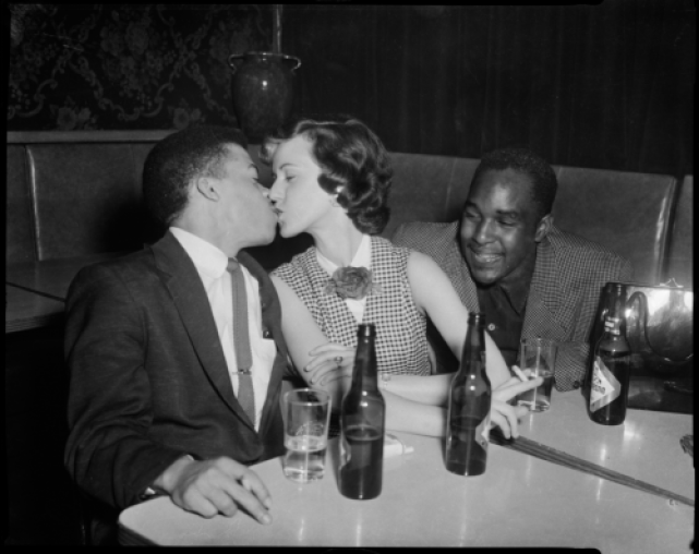 Image result for black date in restaurant with white woman