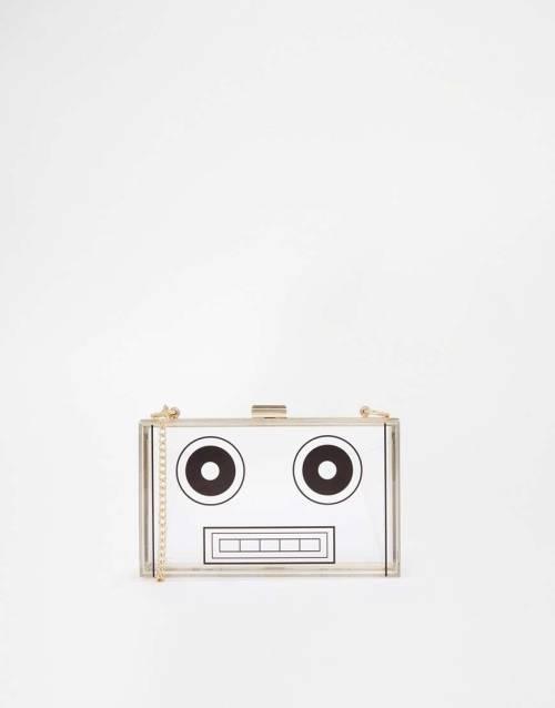 ASOS Robot Box Clutch Bag