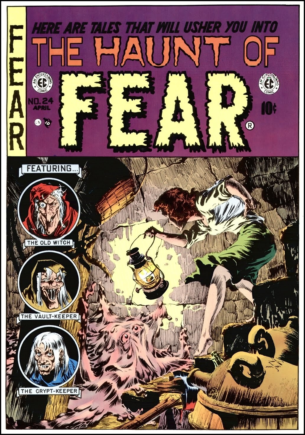 Image result for ec comics haunt of fear