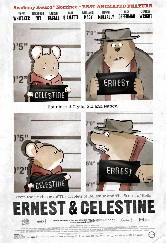 Poster do filme Ernest e Célestine