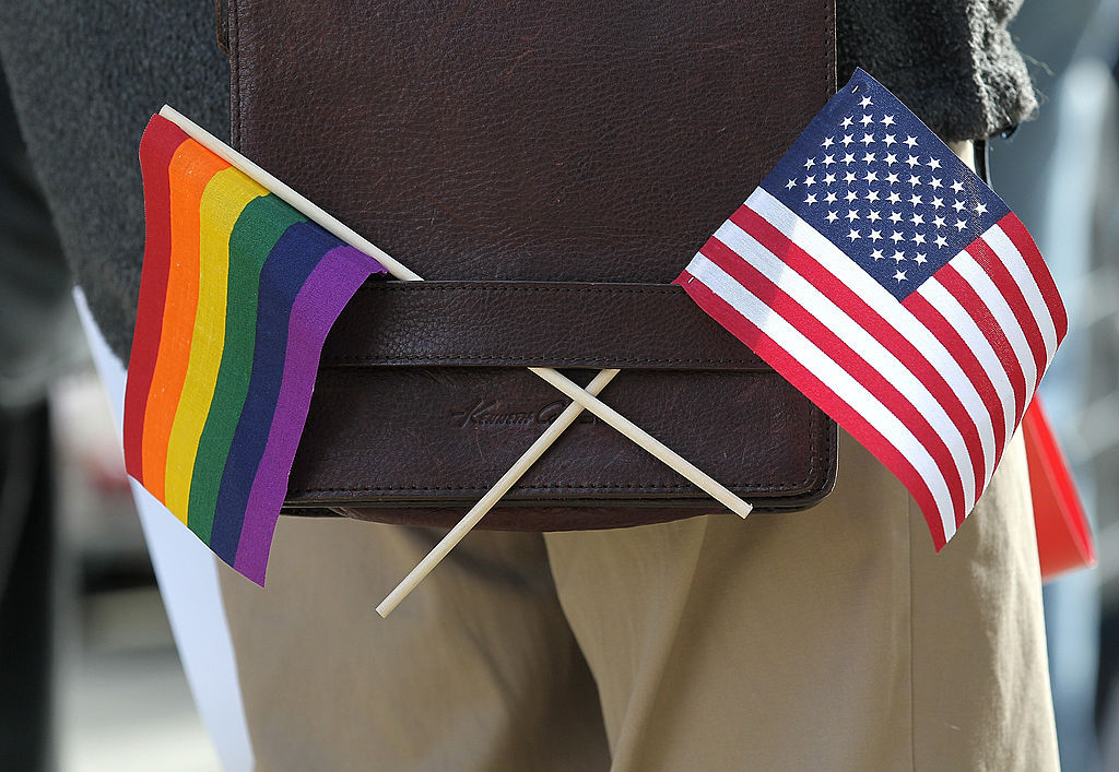 "airyairyquitecontrary: "" invisiblelad: "" theweekmagazine: "" Britain just issued a travel warning for LGBT people headed to U.S. It's that bad. "" In the eyes of the British government, the U.S. may now be a risky destination for LGBT travelers. The..."