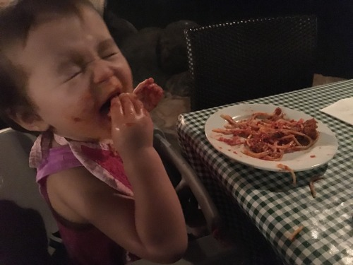Thursday afternoon Emma and I flew to Kona (can I just say hallelujah for flights that are only 30 minutes long when traveling alone with a toddler). Venturing out to find dinner after our long nap I came across a pizza and pasta restaurant and went...