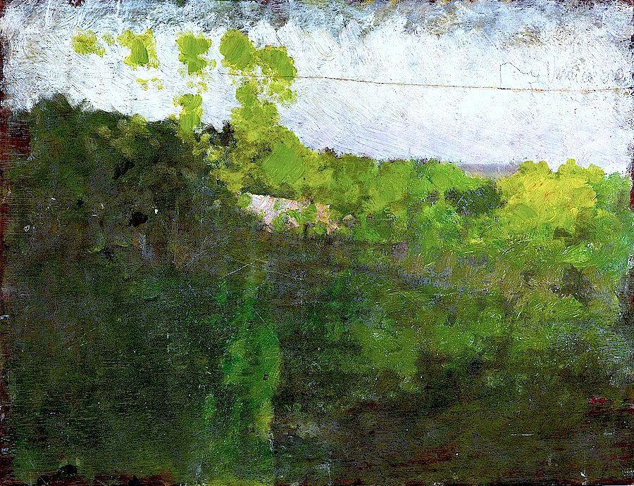 """bofransson: """" Landscape Study Giuseppe de Nittis (1875) """""""