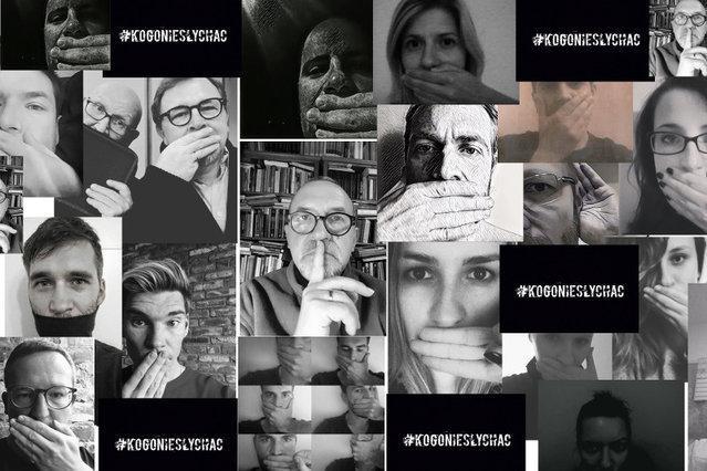 Pislam w radio - collage by Tomasz Lawnicki #kogoniesylchac
