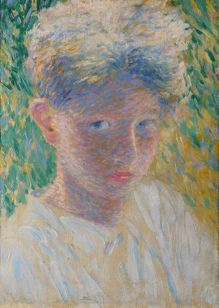 amare-habeo: Fernand Lantoine (French, 1878-1955) Portrait d'enfant, N/D Oil on canvas, 36 x 28 cm