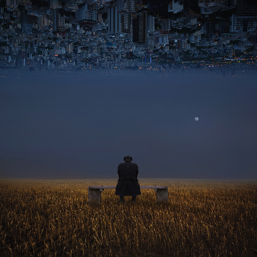 Alone in my dream world Hossein Zare