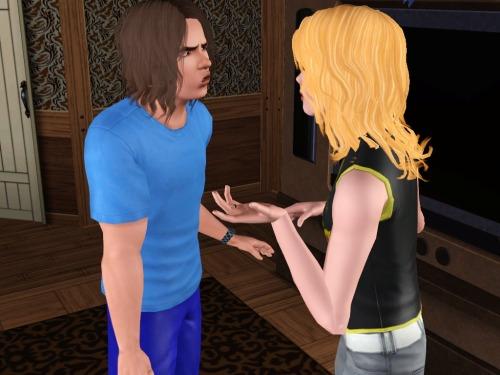 """""""Okay, okay. I get it, you like my dad. Jeez, you already married him."""""""