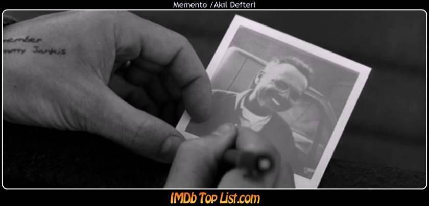 Memento ,2000,Akıl Defteri,Помни, ABD, Christopher Nolan,Guy Pearce,Joe Pantoliano,Carrie-Anne Moss,Mark Boone Junior,113 Dak.,Leonard,Natalie