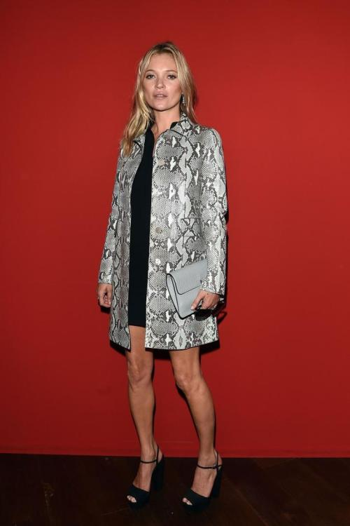 Kate Moss at the Gucci SS15 show in Milan.