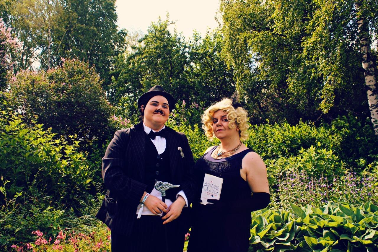 Hercules Poirot & Ariadne Oliver