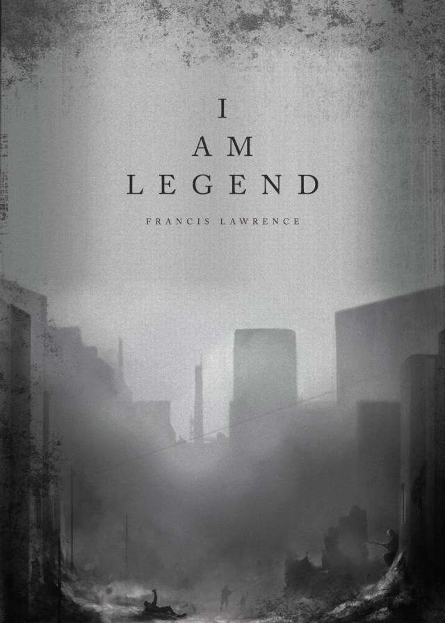 Day 271: I Am Legend. #amovieposteraday