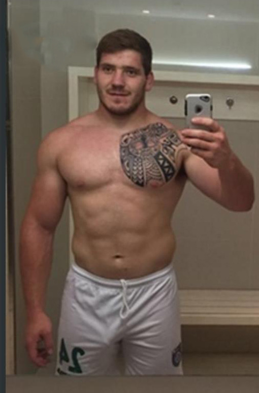 Andres Enrique atletas pelados nus