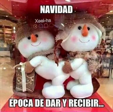 Cuidado con la Navidad.