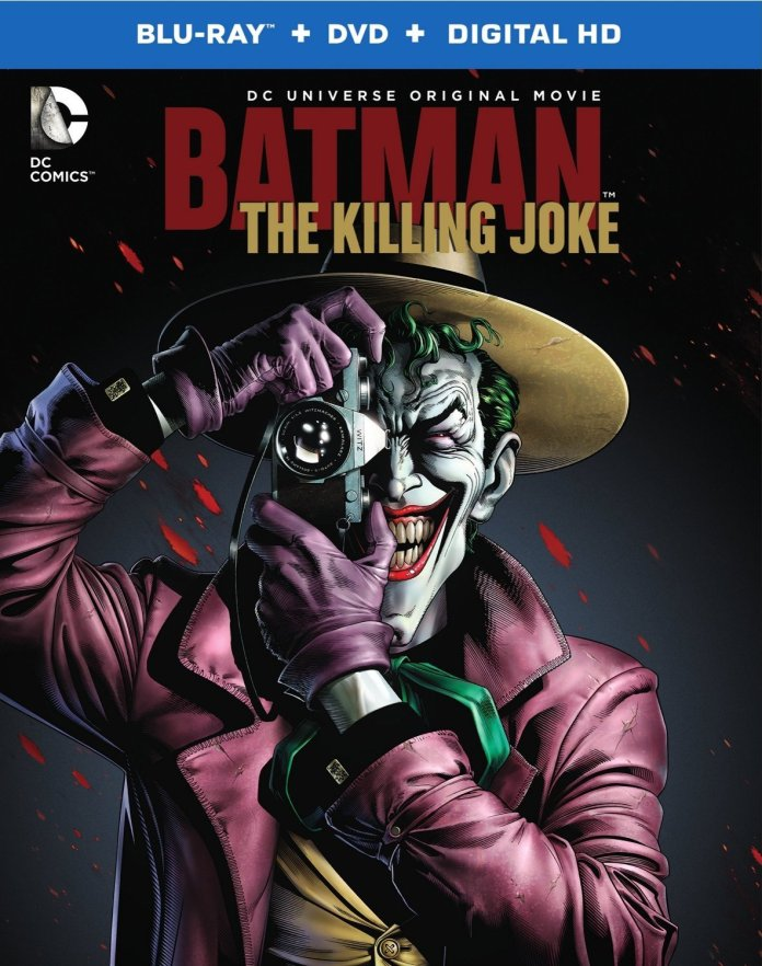 The Killing Joke blu-ray cover