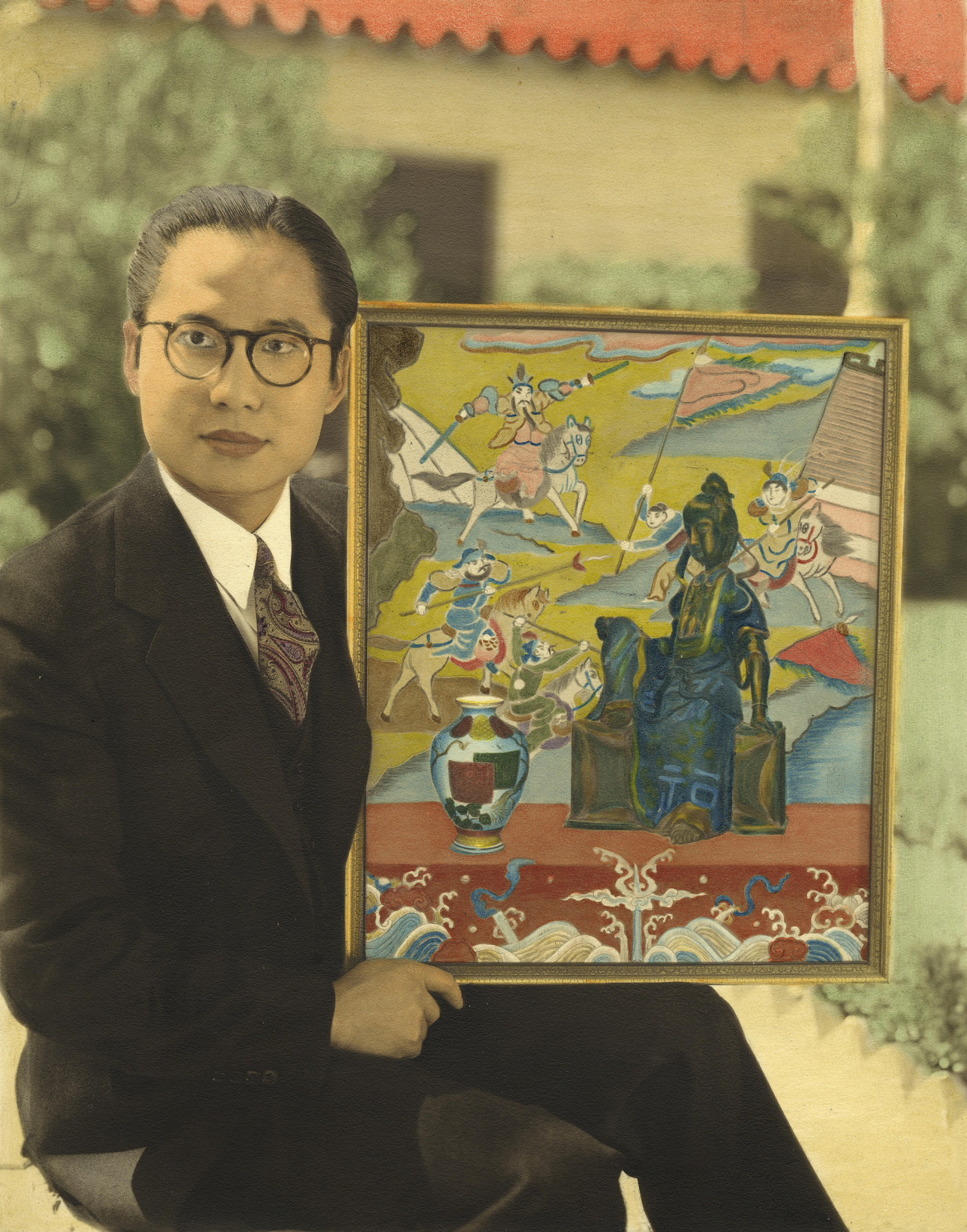"""theacademy: """" KEYE LUKE, ACTOR AND ARTIST Keye Luke (1904-1991), the Chinese-American actor whose Hollywood career spanned seven decades, made his screen debut in an uncredited supporting role in The Painted Veil (1934), but his big break came when..."""