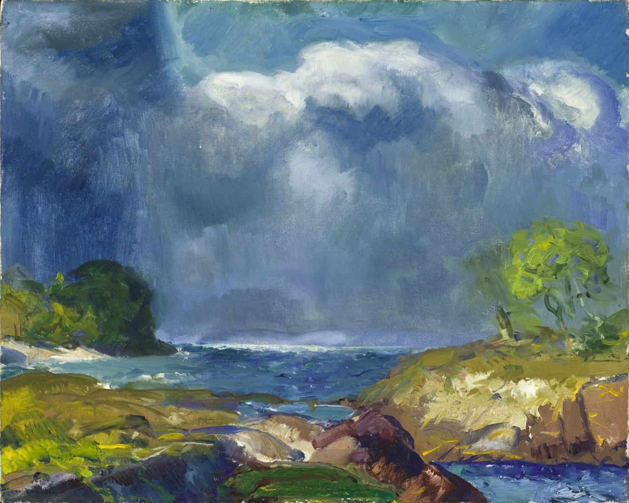 "thusreluctant: "" The Coming Storm by George Bellows """