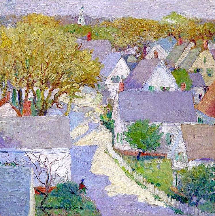 "bofransson: "" Houghton Cranford Smith (1887 - 1983) Provincetown, c. 1912 """