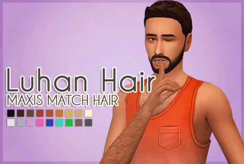 Meyokisims Luhan Hair The Sims 4 Maxis Match Hair Hey Guys Sims Update Find Or Downloads Custom Contents For The Sims 2 3 4