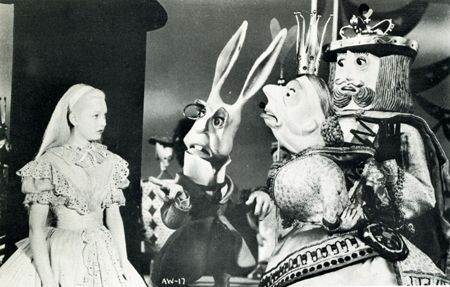Image result for alice in wonderland 1949