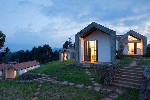"Umusozi Ukiza ""Healing Hill"" Doctors' Housing MASS Design Group Located on an adjacent site to the Butaro Hospital, Rwanda, the Butaro Doctors' Housing is designed to attract and retain skilled physicians at the new hospital. The construction process..."