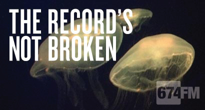 The Record's not broken