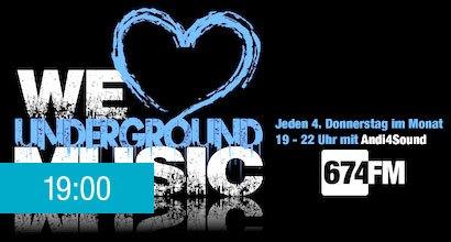 we love underground music