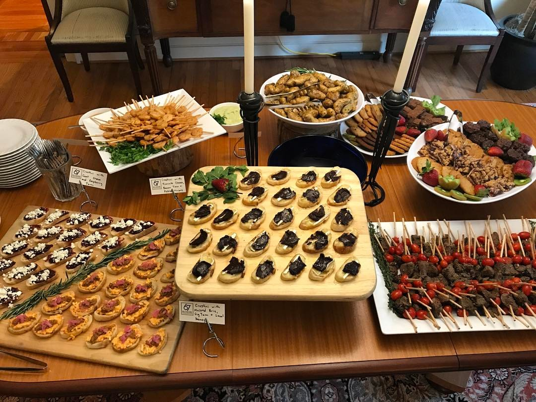 Picture of Hors d'oeuvres by 67 Biltmore Downtown Eatery and Catering