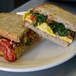 Picture of Morning Forager Breakfast Sandwich by 67 Biltmore Downtown Eatery and Catering in Asheville, NC
