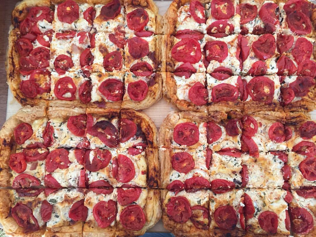 Picture of Rustic Tomato Tart by 67 Biltmore Downtown Eatery and Catering in Asheville, NC