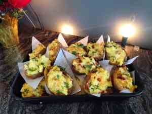 Picture of Twice Baked Potatoes by 67 Biltmore Downtown Eatery and Catering in Asheville, NC