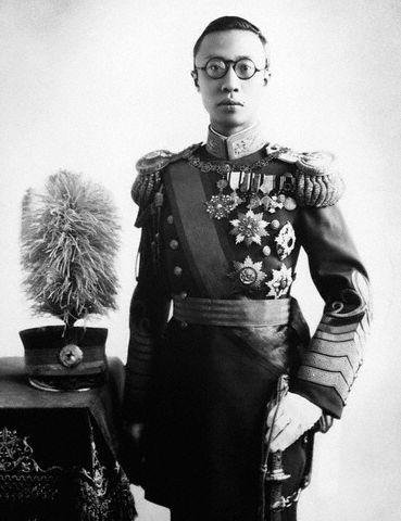 満洲国皇帝時代の溥儀
