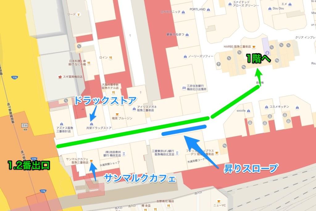 地下鉄梅田イメージ