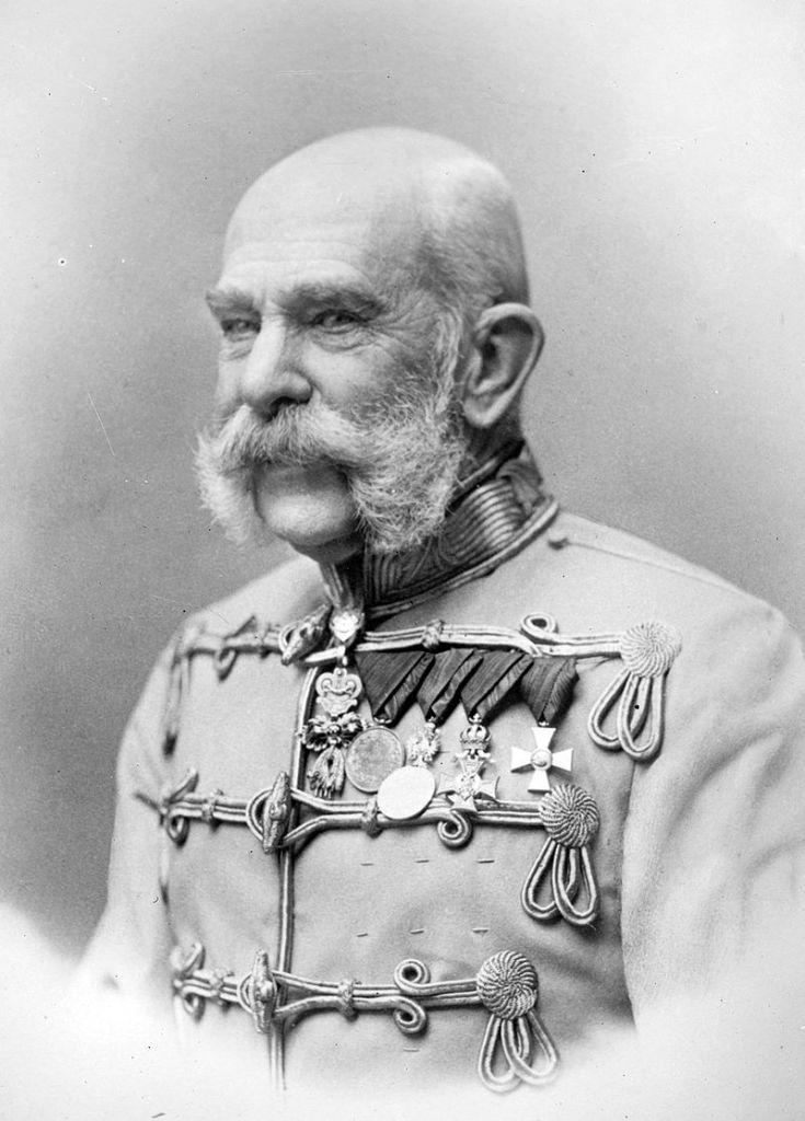 フランツ・ヨーゼフ1世(1905年) 出典:Wikipedia