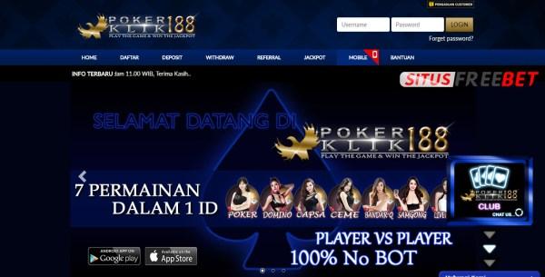 Bonus Freebet Poker Tanpa Deposit