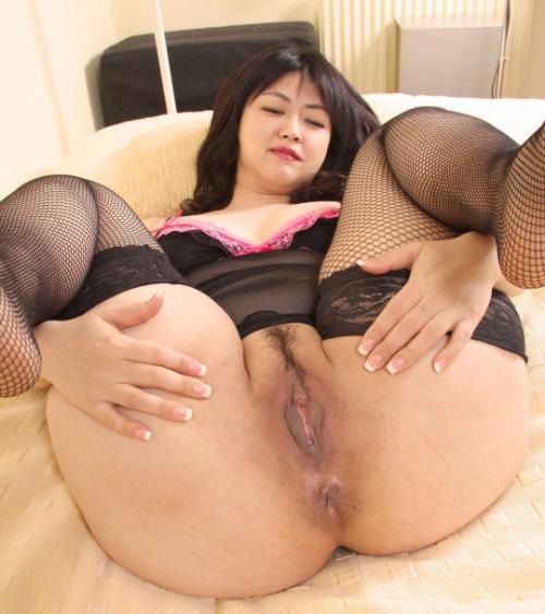 Korean bbw fat pussy