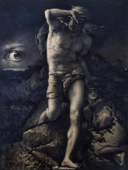 loumargi:François-Nicolas Chifflart La Conscience (1885)