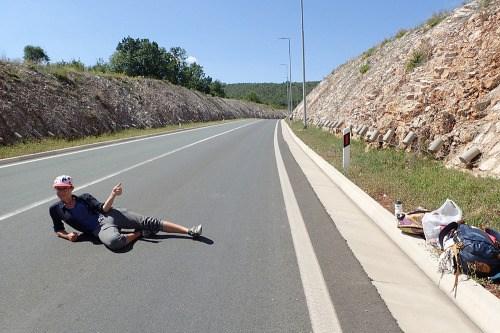 Heure de pointe sur la bretelle d'accès à l'autoroute