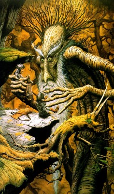 translucentmind:  The Lord of The Rings: Treebeard // Rodney Matthews