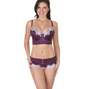 Danielle Longline Bra. Side boning and power mesh wings for added support, Back adjustable…, July 25, 2017 at 04:57PM