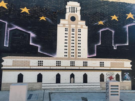 Austin murals, street art in Austin Texas