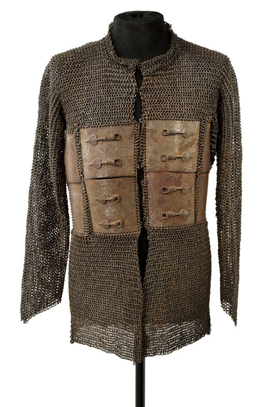 f9038e6470906 victoriansword  17th Century Indian Plated Mail Coat (Zirah… – Antiques