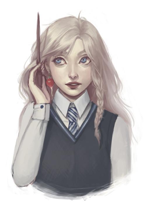 Bildergebnis für Luna Lovegood art