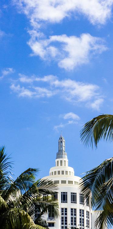 art deco district of Miami