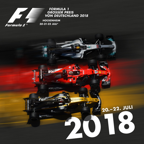 buy popular 5c9ac a6d73 Smart Poster for the Hockenheim F1 GP 2018 http   ift.tt 2wqzrKn