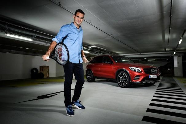 Roger federer photoshoot for mercedes benz 2017 tennis for Roger federer mercedes benz contract