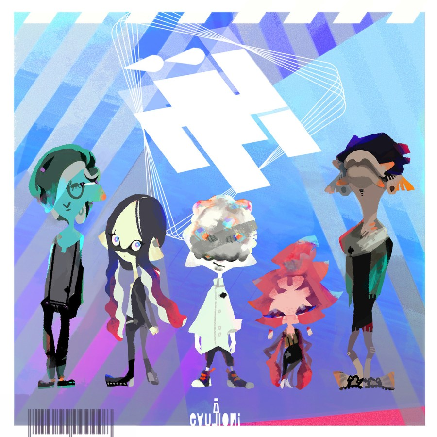 """The rock band Wet Floor are the latest sensation in the Inkling world. Their songs are an enticing blend of different genres, and they're especially popular with the kids right now. Let's check out their song """"Rip Entry,"""" which you'll hear as..."""