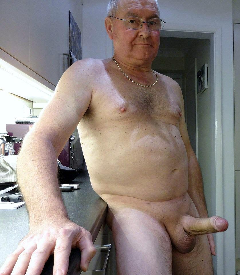 Hung grandpa