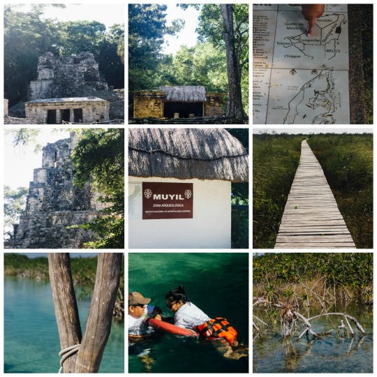 Mayan ruins at Muyil, day trips from Tulum