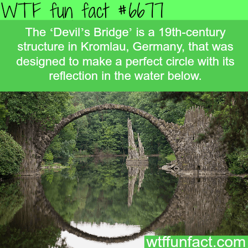 Image result for wtf fun fact devils bridge