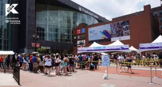 Image result for kcon check-in
